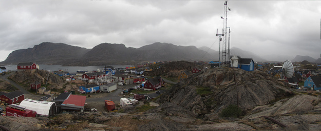 Sisimiut towards the Northwest.