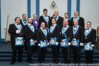 Thumbnail for the post titled: Officers of Lodge No. 43 for 2014