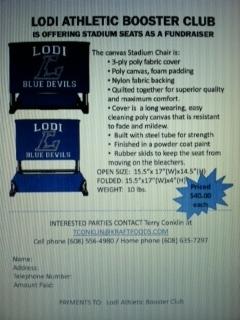 Fundraising  Merchandise  Lodi Athletic Booster Club Inc