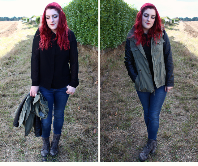 Tenue Automnale : Army inspired