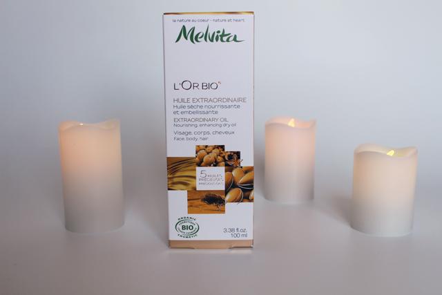 L'Or Bio par Melvita: la première huile sèche qui a su me convaincre !