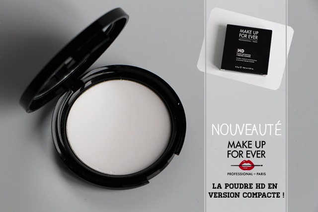 Make up For Ever lance sa poudre compacte HD !