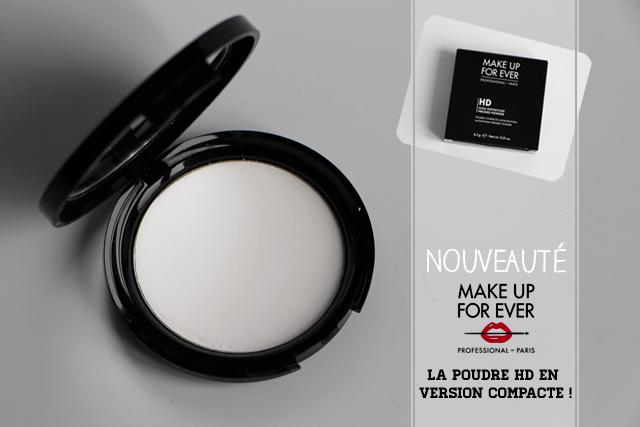 poudre compacte HD makeup for ever