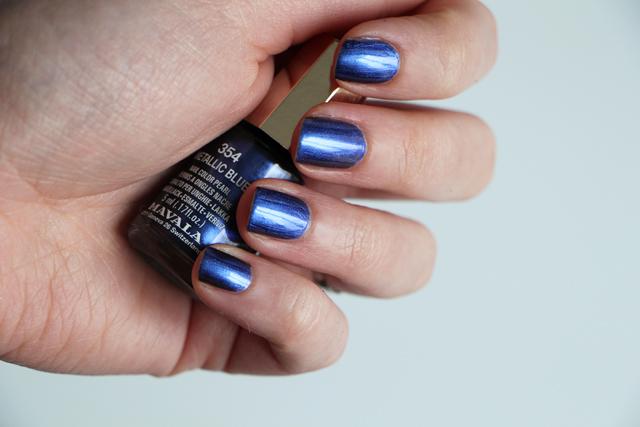 mavala metallic blue