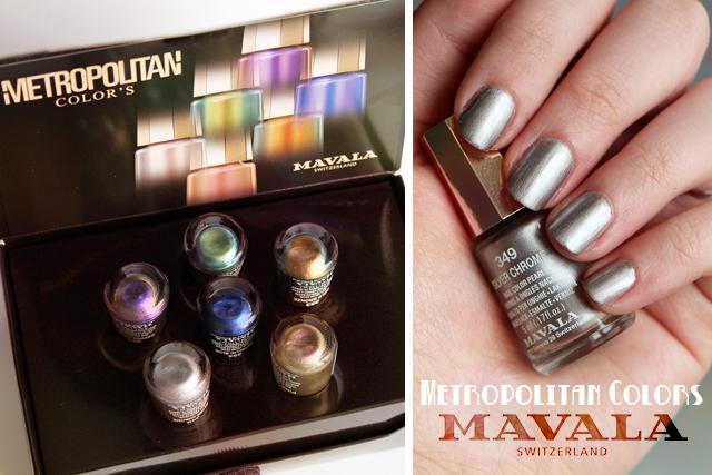 La collection Metropolitan Colors by Mavala !