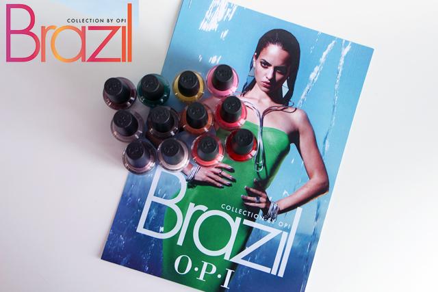 Brazil, la nouvelle collection OPI !