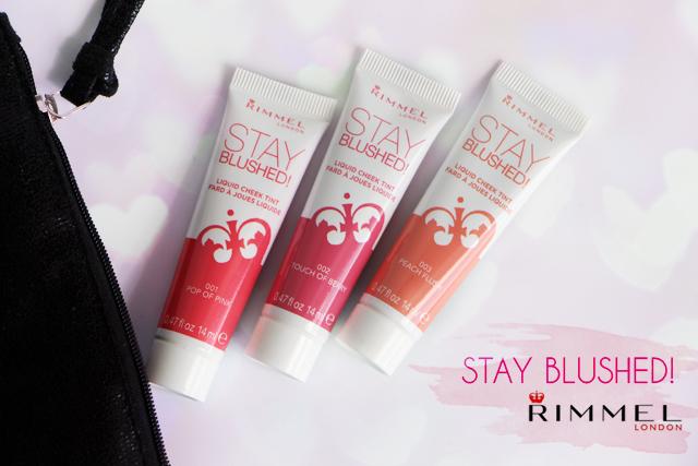 Stay Blushed avec Rimmel !