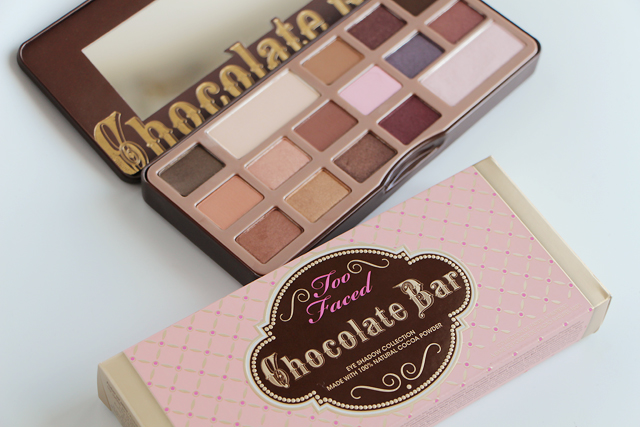 chocolate bar palette too faced 7