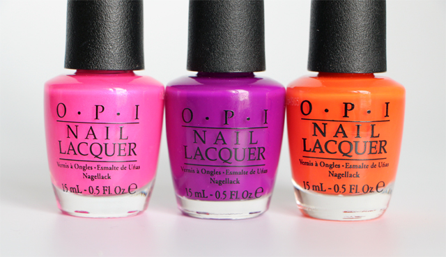 collection neon OPI NEON