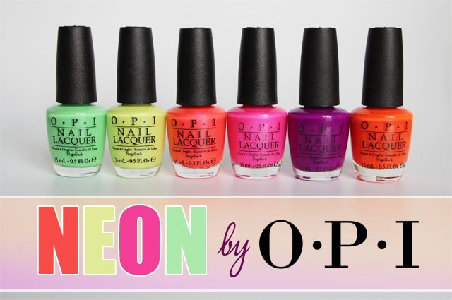 neon collection OPI 72