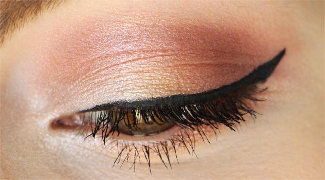 elf palette sunset makeup