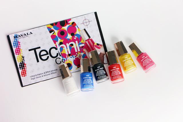 La collection Techni-color's de Mavala !