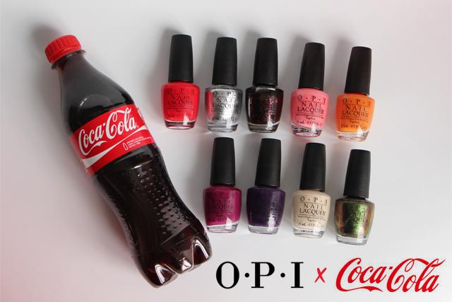 La collection Coca Cola by OPI !