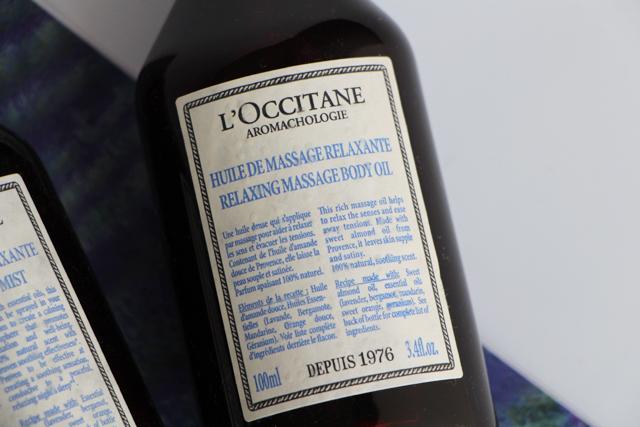 loccitane huile