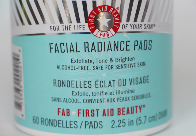 first aid beauty pads