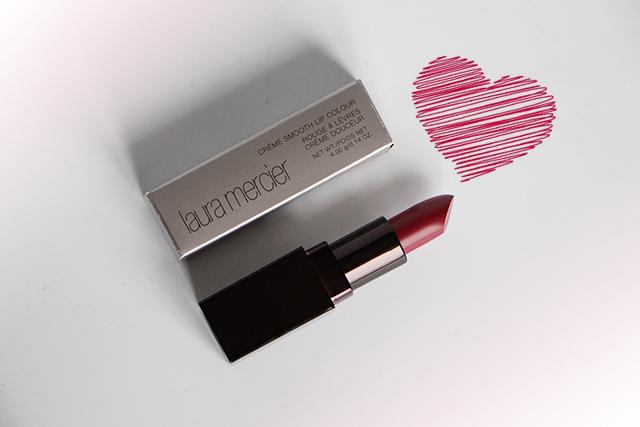 Le Crème smooth Lip Colour en teinte Plumberry par Laura Mercier !