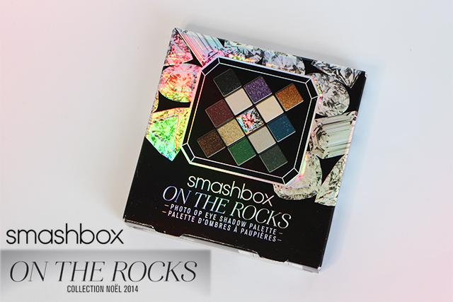 smashbox on the rock palette