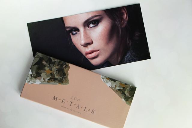 La nouvelle palette Mixed Metals de Zoeva