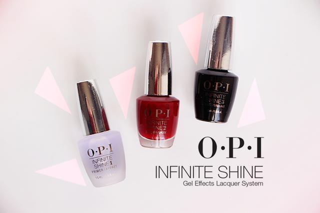 La nouvelle collection Infinite Shine d'OPI !