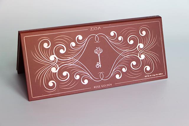 La nouvelle palette Rose Golden de Zoeva
