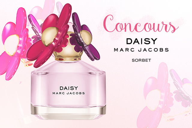 Concours #3 : Daisy Edition Sorbet Marc Jacobs