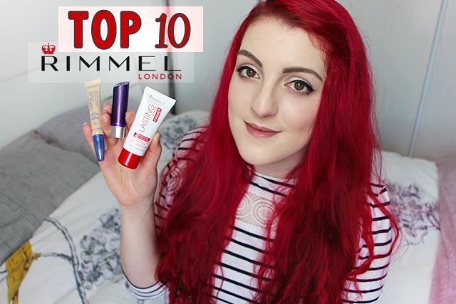 TOP10 : Rimmel !