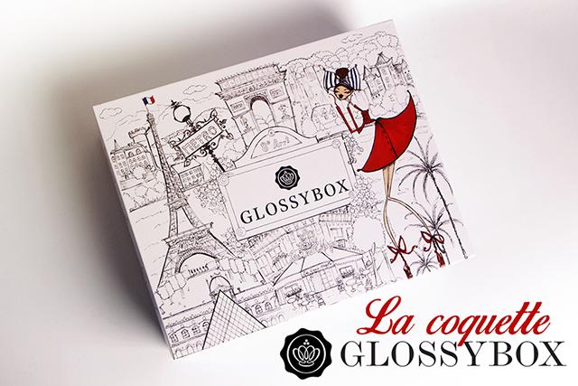 La Glossybox du mois de juillet : La Coquette