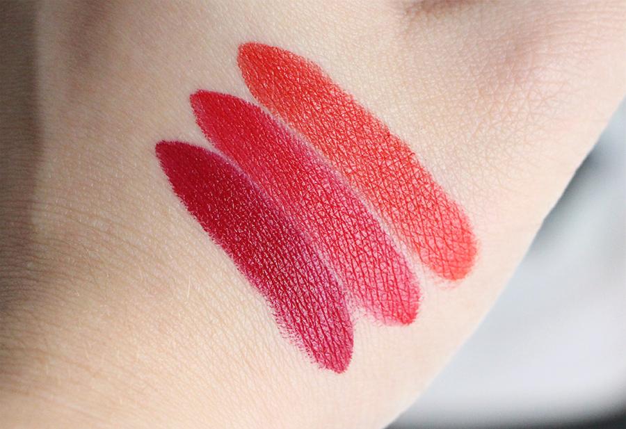 christophe dancheau absolution swatch lipsticks