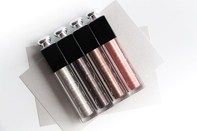 Un automne métallisé avec les Dior Addict Fluid Shadows !