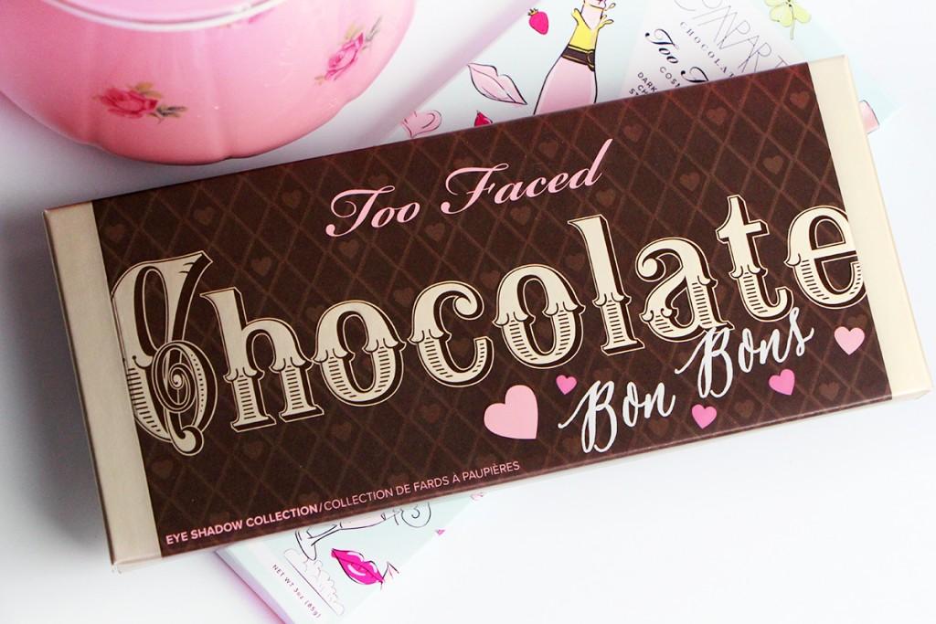 chocolate bon bon palette too faced