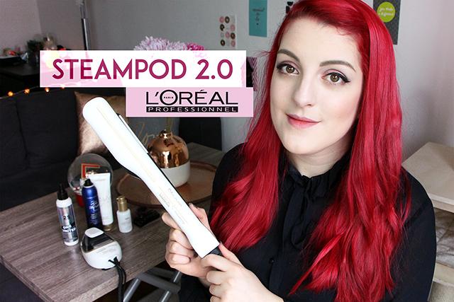 Le Steampod 2.0 de l'Oréal Professionnel : mon avis !