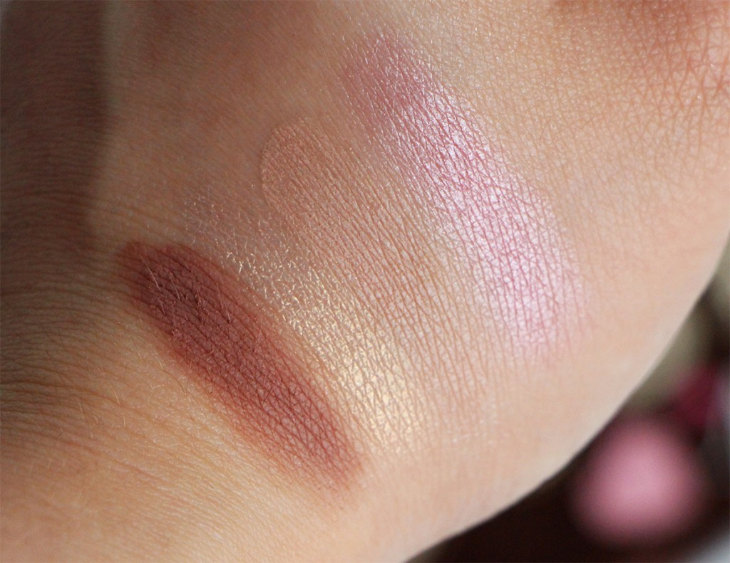 too faced 6 swatch