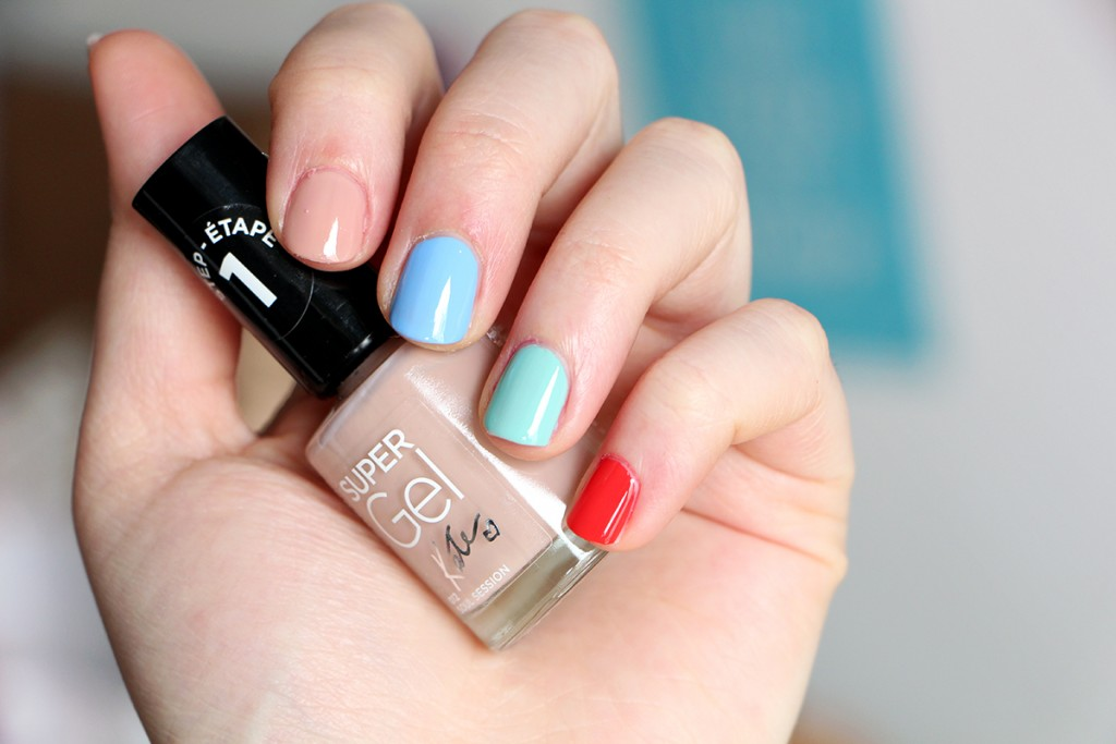 rimmel swatch kate collection supergel