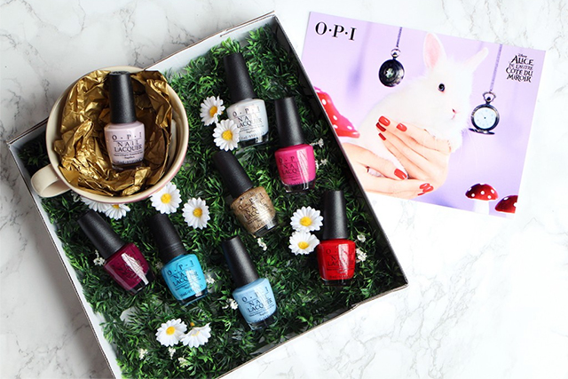 OPI x Alice Through the Looking Glass
