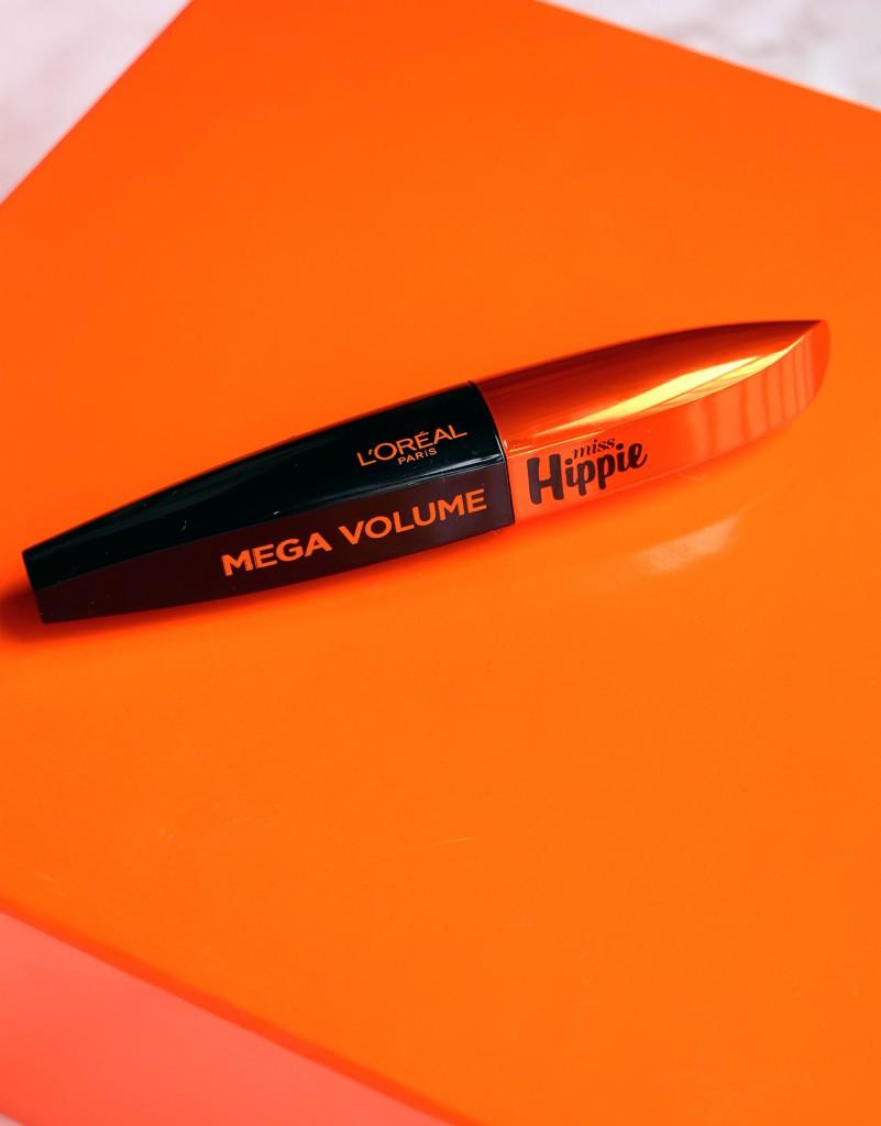 loreal mega volume mascara miss hippi erevue