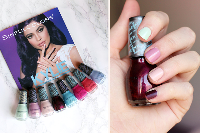 Sinful Colors x Kylie Jenner : des ongles mats!