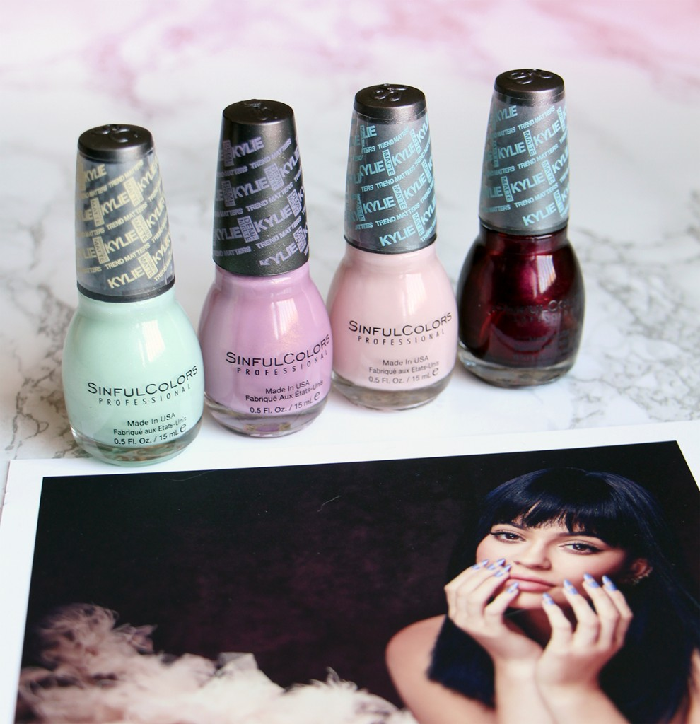 sinful colors kylie collection1