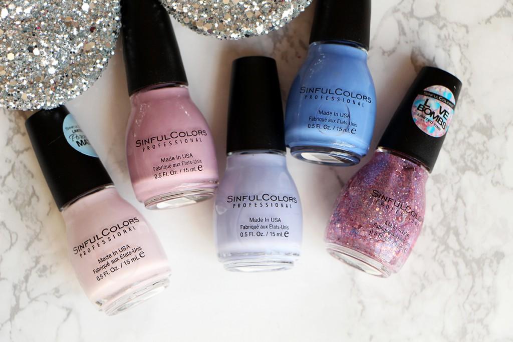 sinful colors zoom pocelain matte nail polish vernis