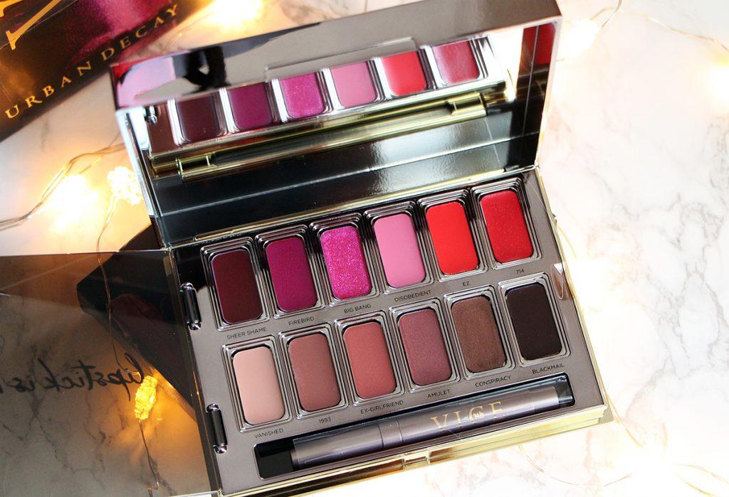 lipstick vice palette open urban decay revue avis