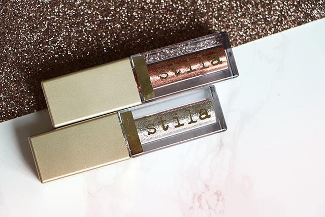 Les fards Magnificent Metals Glitter & Glow de Stila: addictifs !