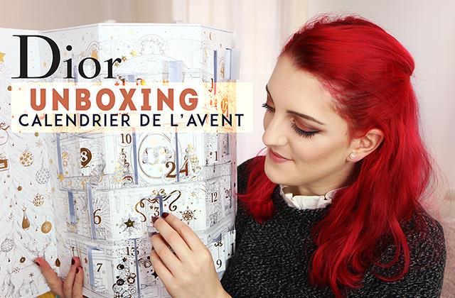 Unboxing: le Calendrier de l'Avent 2017 Dior