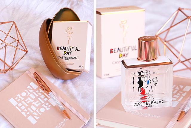 Coup de coeur olfactif: Beautiful Day, l'Eau de Parfum Bonheur de Castelbajac!