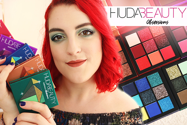 Les nouvelles palettes Obsessions Precious Stones by Huda Beauty