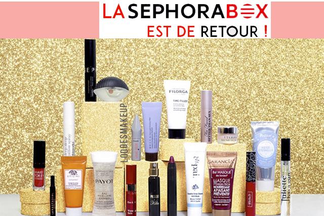 Bon plan: la Xmas Sephora Box est de retour !