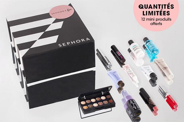 BON PLAN : La Sephora Box est de retour!