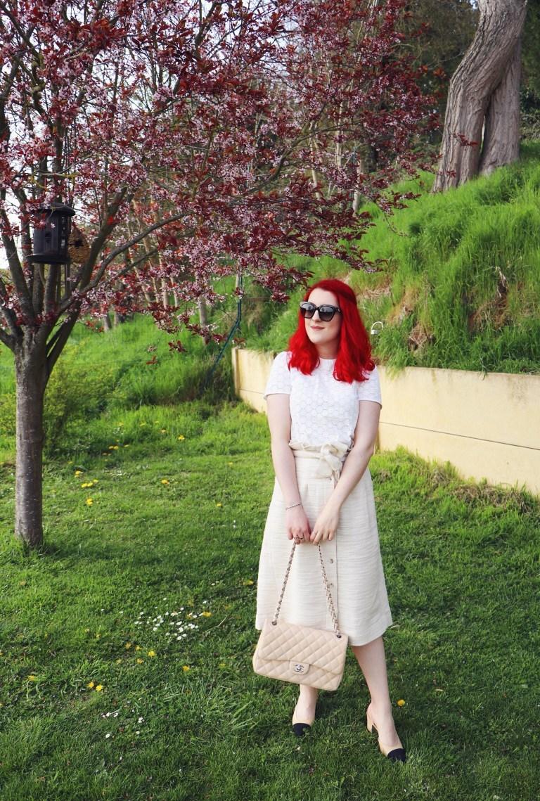 Première sortie pour mes slingbacks de Chanel