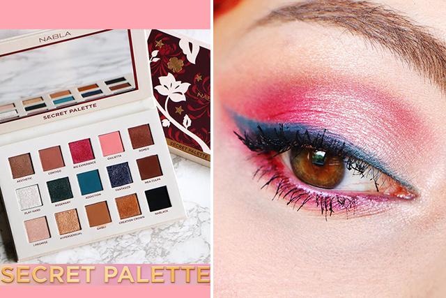 Mon avis sur la Secret Palette de NABLA Cosmetics