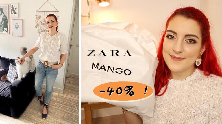 Haul pré SOLDES : ZARA, Mango, Sézane (jusqu'à -40%!)