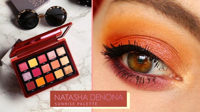 Nouvelle palette: Sunrise by Natasha Denona