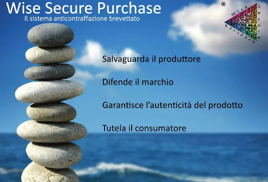 Wise Secure Purchase, l'innovativo sistema anticontraffazione